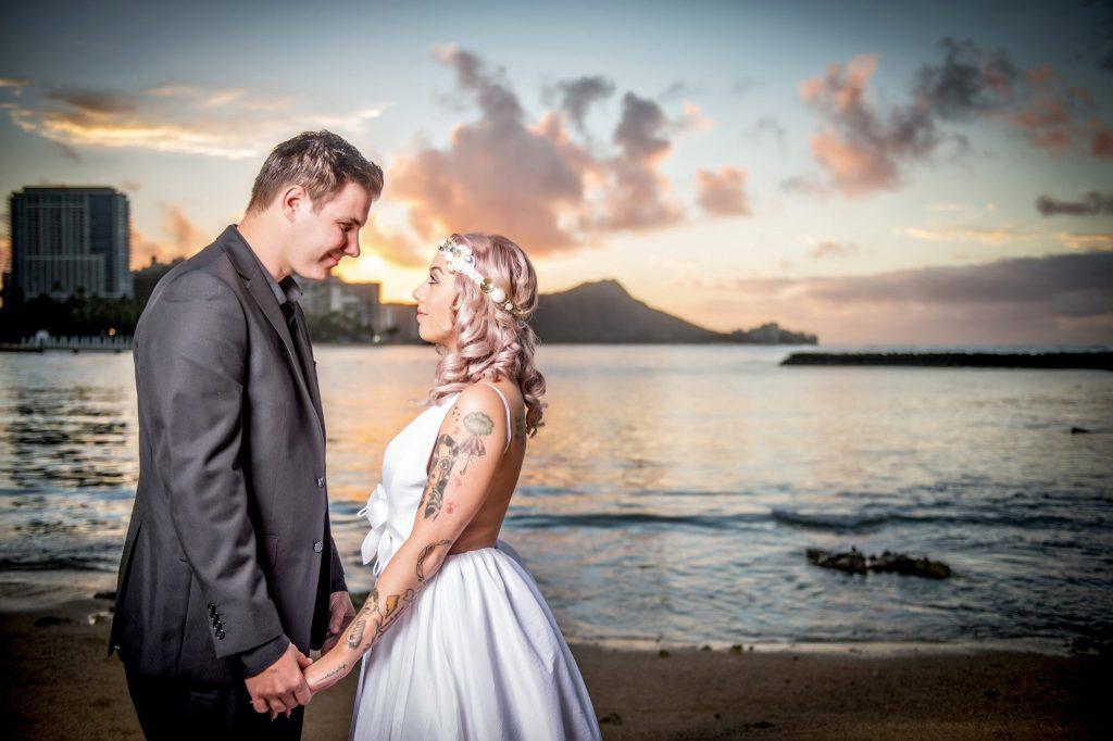 hawaii destination wedding photo by ross costanza photography
