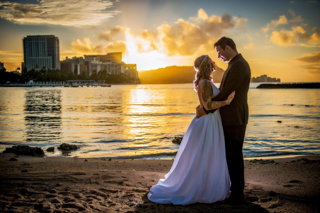 hawaii destination wedding photo by ross costanza photography