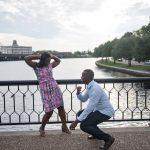 Norfolk Virginia Engagement Photograph | The Hague
