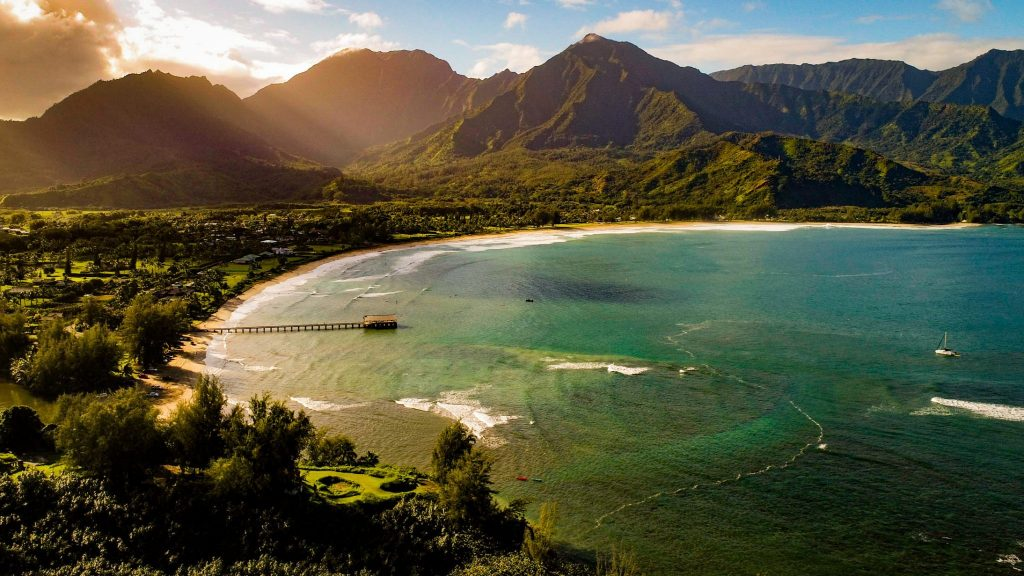 hawaii landscape photography dji phantom 4 pro