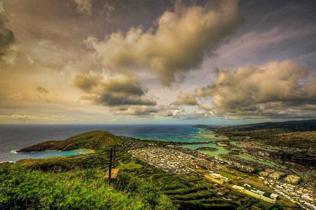 hawaii landscape photograph oahu koko head