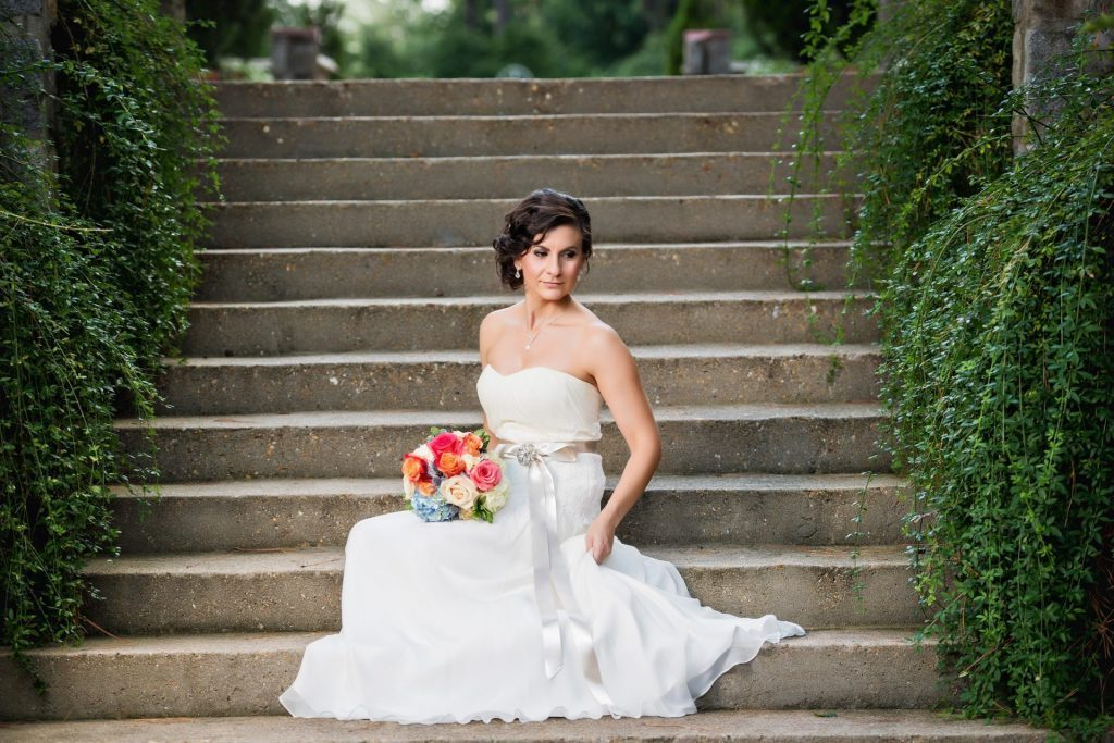 norfolk botanical garden bridal photographer by Ross Costanza Photography