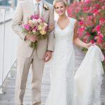 Yacht Club at Marina Shores wedding photograph