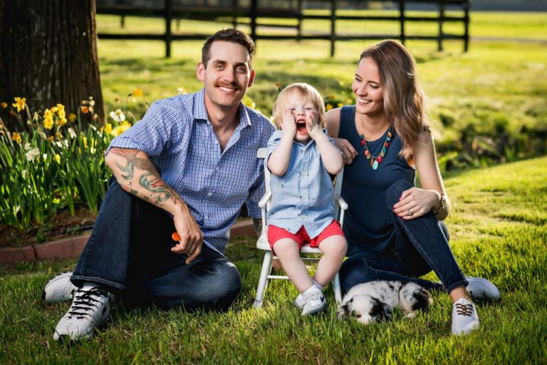Hampton Roads Family Photographer - The Costanza Family