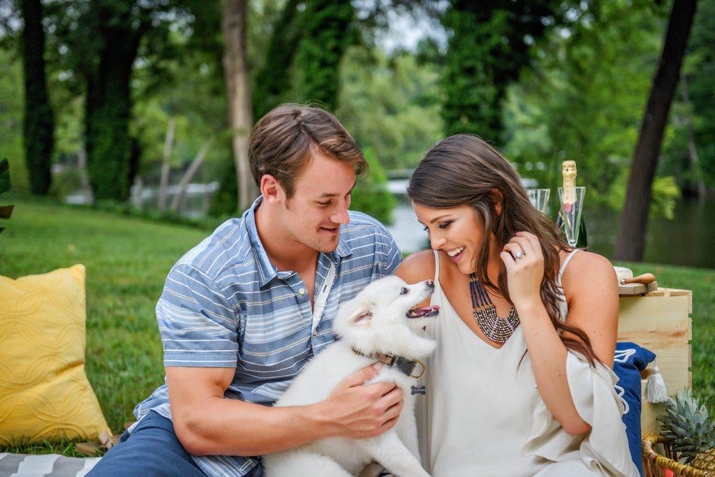 Suffolk Virginia engagement photograph - Kaleigh & Gabe
