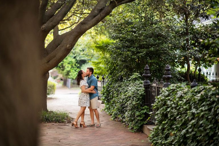 Norfolk Virginia engagement photograph - Courtney & Josh