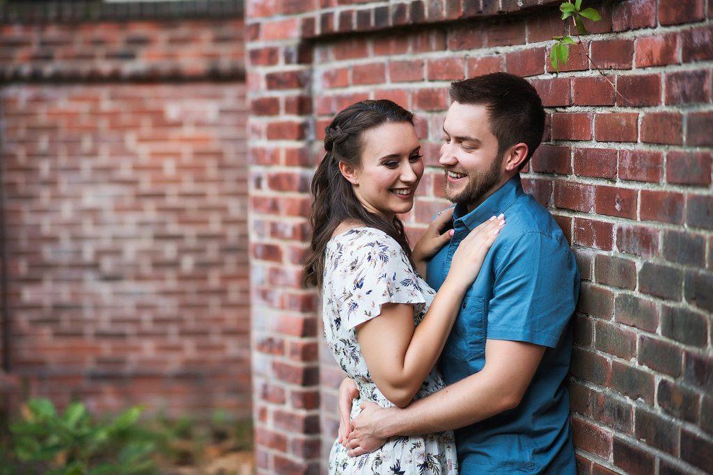 Norfolk Virginia engagement photograph - Courtney & Josh