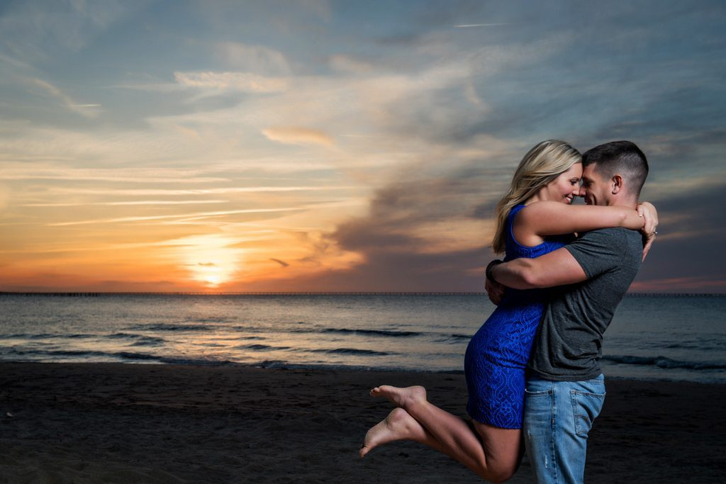 Virginia Beach Engagement Photograph - Lacey And Mark - First Landing State Park