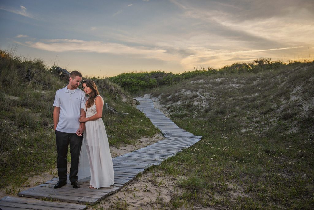Virginia Beach Wedding Photograph - Brooke And Alex Engagement Session