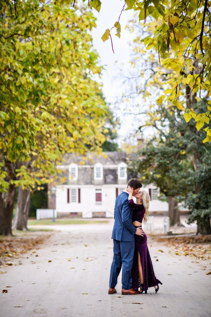 Williamsburg Engagement Photograph - Stacy And Chris